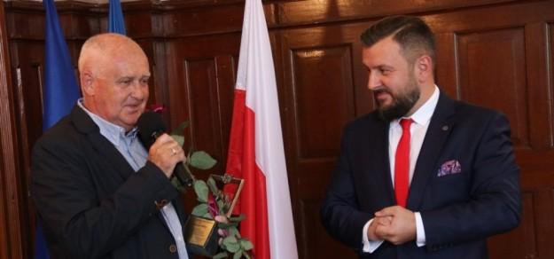 (fot. Powiat Pszczyński) Z lewej Henryk Wita
