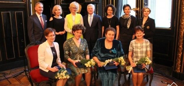 Ubiegłoroczne laureatki (fot. powiat pszczyński)