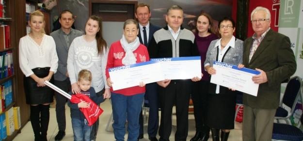 W ubiegłym roku do Uzdrowiska Goczałkowice-Zdrój pojechali Bronisława i Stanisław Tetlowie z Mizerowa, Teresa Reroń z Rudołtowic oraz Stanisław Kapias z Goczałkowic-Zdroju.