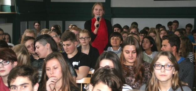 Na warsztatach dziennikarskich z Marcinem Pietraszewskim, które zorganizowaliśmy w ub. roku pojawiło się sporo uczniów działających w szkolnych gazetkach czy kółkach dziennikarskich. Czekamy także na Wasze zgłoszenia!