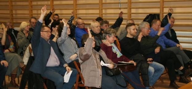 O kanalizację mieszkańcy Piasku pytali także podczas tegorocznego zebrania sołeckiego