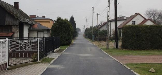 Ul. Malinowa w Wiśle Wielkiej po remoncie (fot. UM Pszczyna)