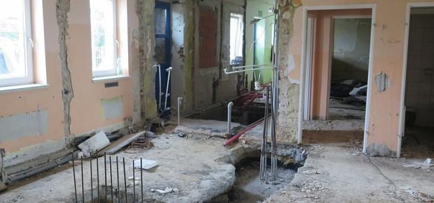 Rozbudowa przedszkola w Warszowicach. fot. UG Pawłowice