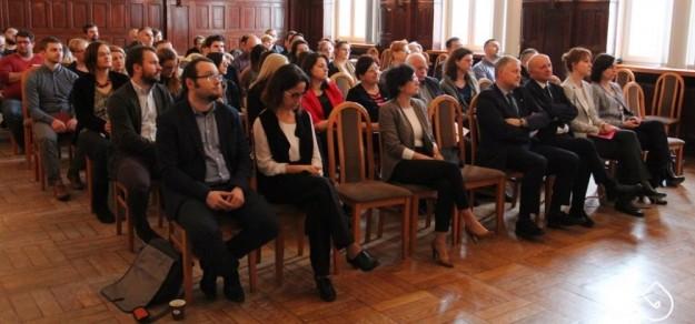Podczas Forum Przedsiębiorców w ub. roku (fot. powiat pszczyński)