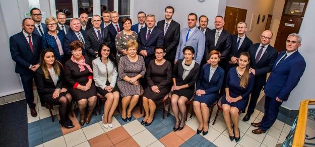 Rada Miejska nowej kadencji po I sesji (fot. UM Pszczyna)