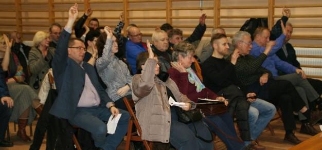 Być może propozycje zmian zgłoszone przez Rady Sąsiedzkie zostaną poddane pod głosowanie mieszkańców podczas tegorocznych zebrań