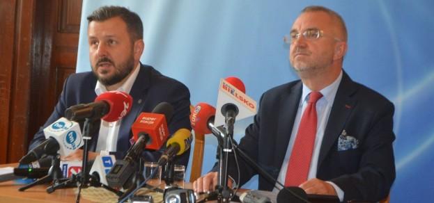 Paweł Sadza i Marcin Leśniewski