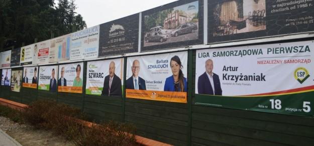 Tym razem reklamy wyborcze względnie szybko zniknęły z pola widzenia.