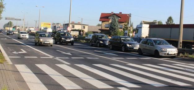 Remont prowadzony będzie na jezdni w kierunku Katowic, od skrzyżowania z ul. Bieruńską