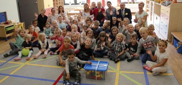 Nowe miejsca w przedszkolach pojawiły się dzięki uruchomieniu placówki przy ul. Skłodowskiej-Curie w Pszczynie (fot. UM Pszczyna)