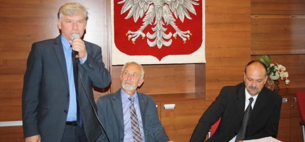 fot. Przemysław Sawicki (pierwszy z prawej) pełnił już funkcję przewodniczącego w kadencji 2014-2018.