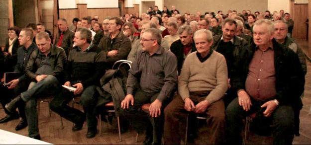 Mieszkańcy pytali głównie o plany wydobycia węgla m.in. pod ich miejscowością.