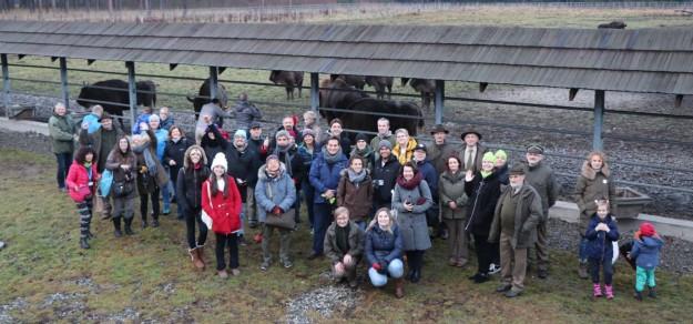 Uczestnicy szczytu klimatycznego zwiedzili śląskie lasy, fot. Marek Kłos (Centrum Informacyjne Lasów Państwowych)