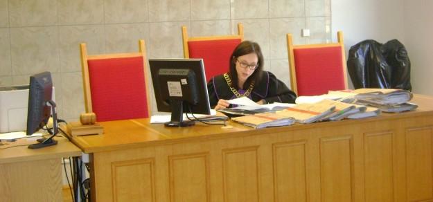 Wyrok ogłosiła dziś sędzia Sylwia Sasiak
