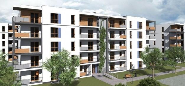 Czy nowe osiedle u zbiegu ulic Cieszyńskiej i Sznelowiec pozostanie tylko wizualizacją? (wiz. PTBS)