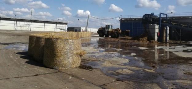 (fot. Powiat Pszczyński) Żeby otrzymać pozwolenie na emisję gazów lub pyłów do powietrza, firma Kompost Wrona musiała dokonać doraźnych zmian w procesie produkcji.