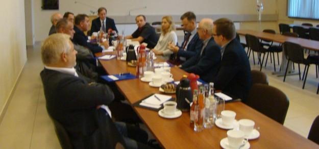 Pierwsze posiedzenie Rady Gospodarczej (fot. UG Miedźna)
