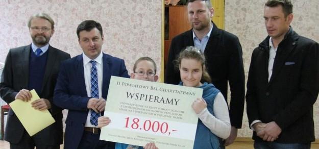 18 tys. zł trafiło m.in. do Stowarzyszenia Razem, fot. powiat