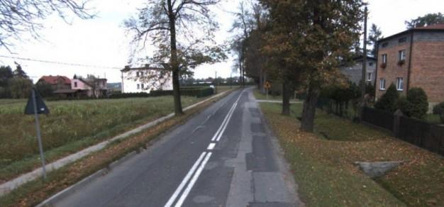 Ul. Wyzwolenia w Suszcu (fot. powiat pszczyński)