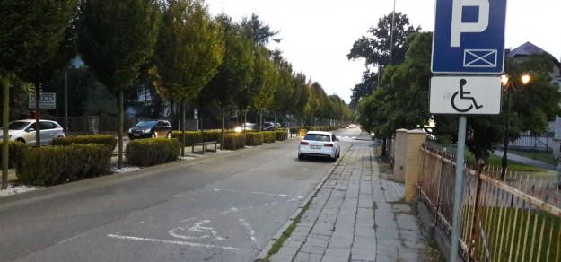 Ulica Kościuszki w Pszczynie