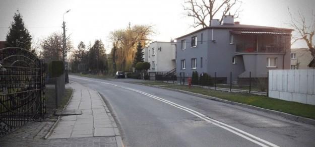 Ul. Sznelowiec w Pszczynie (fot. powiat pszczyński)
