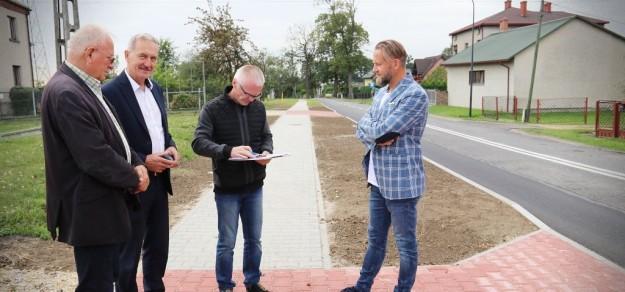 ul. Batalionów Chłopskich w Pszczynie (fot. powiat)
