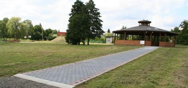 Altana wybudowana w ramach Serc Wsi w Piasku (fot. archiwum)