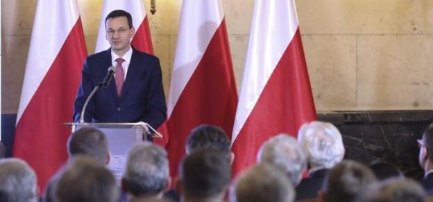Premier Mateusz Morawiecki zaprezentował w Katowicach Program dla Śląska (fot. B. Kosiński / MR)