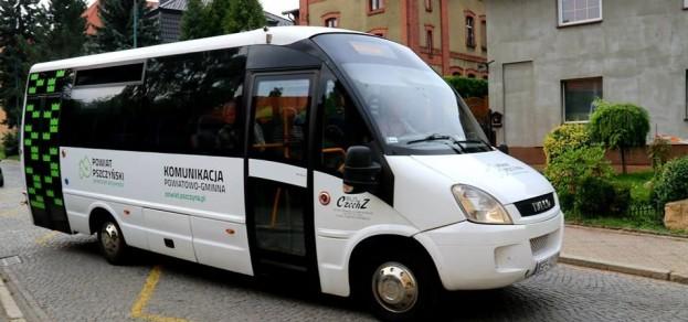 fot. Powiat Pszczyński W dni robocze bus na trasie Pszczyna - Pawłowice wykona 11 kursów tam i z powrotem.
