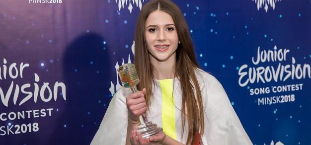 Roksana Węgiel w 16. Konkursie Piosenki Eurowizji dla Dzieci (2018)