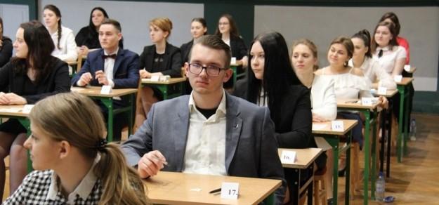 Podczas ubiegłorocznej matury w LO im. B. Chrobrego w Pszczynie (fot. powiat pszczyński)