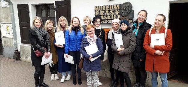 Tegoroczna wycieczka do Muzeum Prasy Śląskiej im. Wojciecha Korfantego w Pszczynie była dla studentów Uniwersytetu Śląskiego cenną lekcją historii.