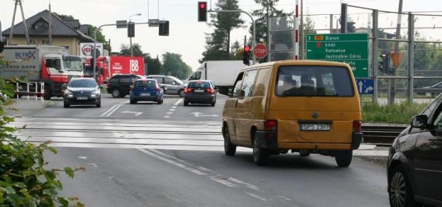 Przejazd kolejowy na ul. Bieruńskiej w Pszczynie