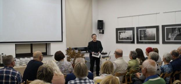 Spotkanie ze Zbigniewem Podsiadłym podczas IV Festiwalu Fotografii Ojczystej, 25.10.2019