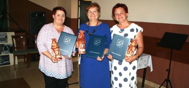 Ubiegłoroczne laureatki, od lewej: Agnieszka Antecka, Łucja Krutak, Urszula Wojciech