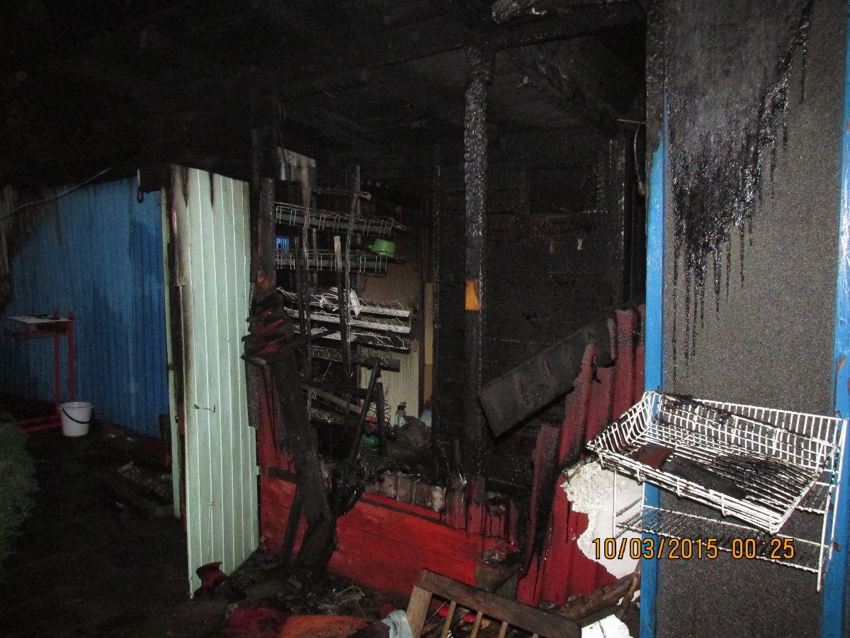Jedna osoba ranna w pożarze baraku mieszkalnego w Suszcu