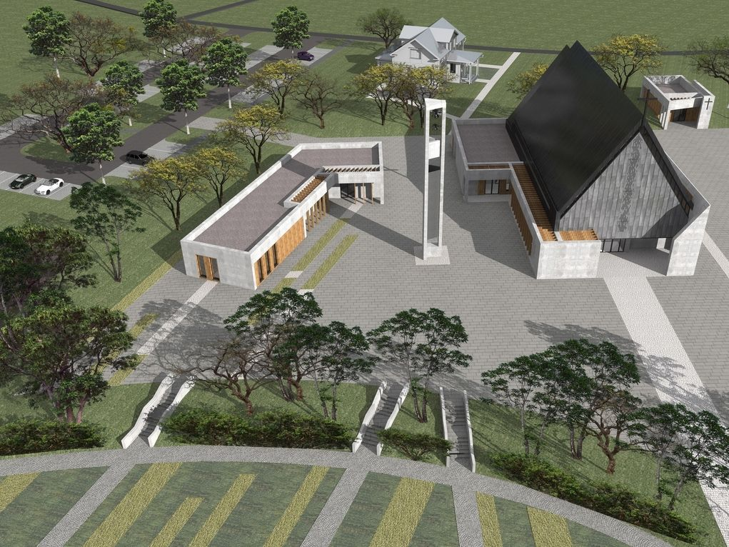 Nowy kościół inspirowany tym starym