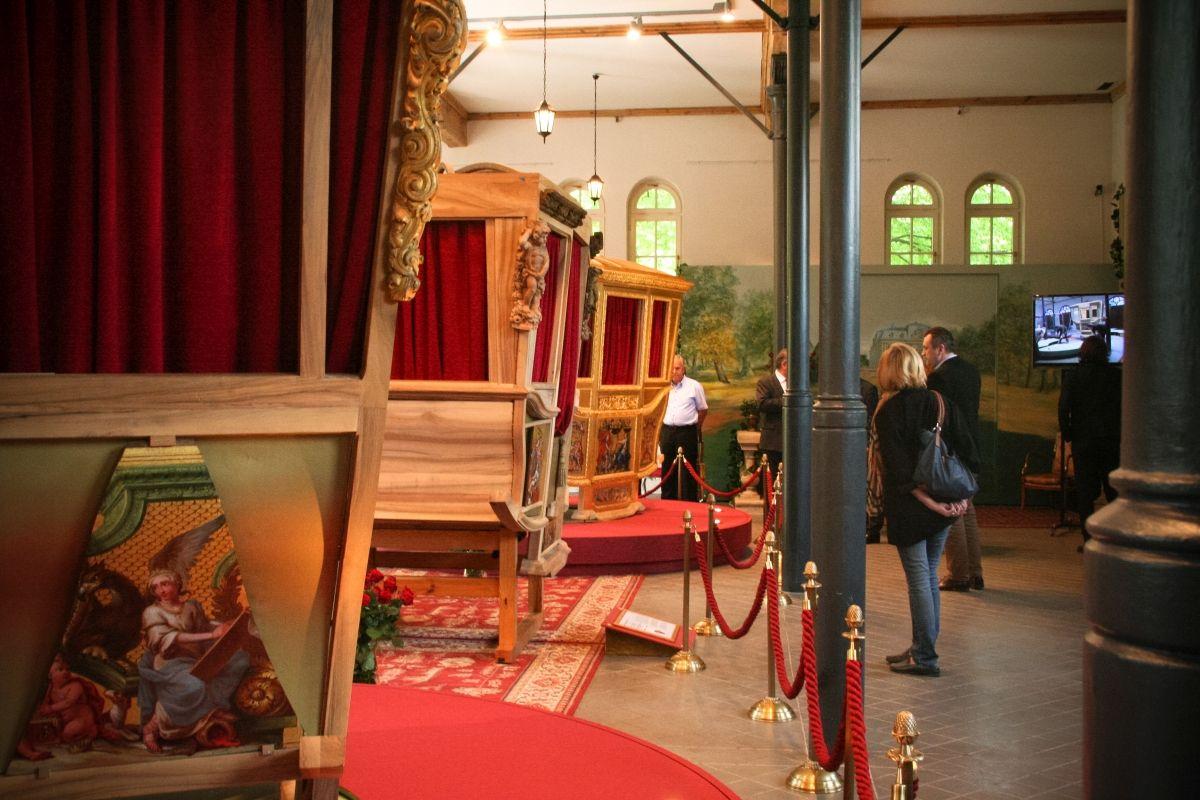 Karoce Jana III Sobieskiego i królowej Marysieńki w Pszczynie
