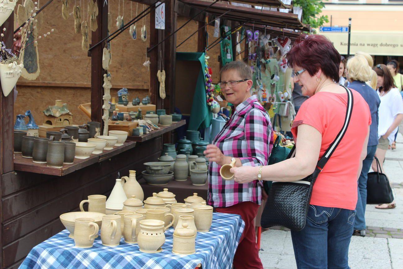 W weekend na rynku królowała ceramika!
