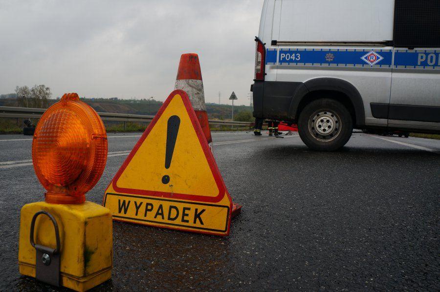 Poranne zdarzenia na drogach: dwie kolizje i wypadek