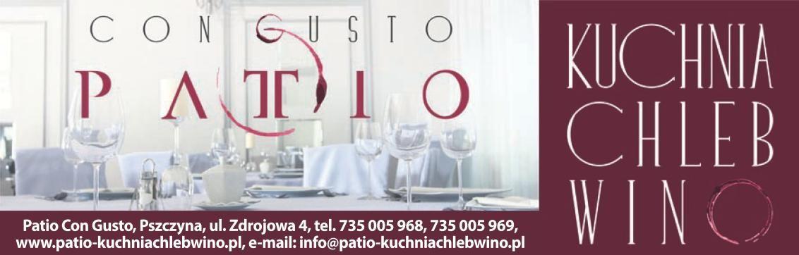 Art Spons Patio Con Gusto Kuchnia Chleb Wino Nowa