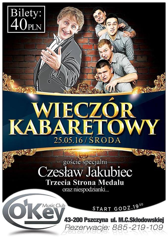 Wieczór Kabaretowy z Czesławem Jakubcem: wygraj zaproszenie!