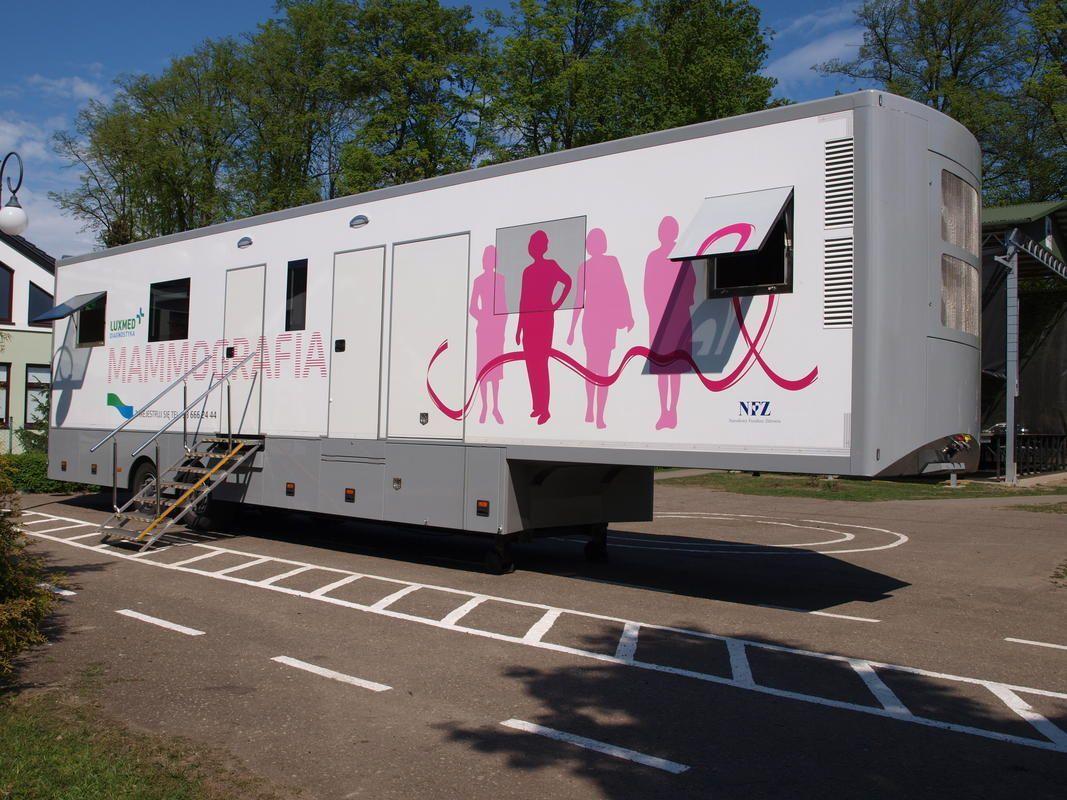 Bezpłatna mammografia w Suszcu i Grzawie