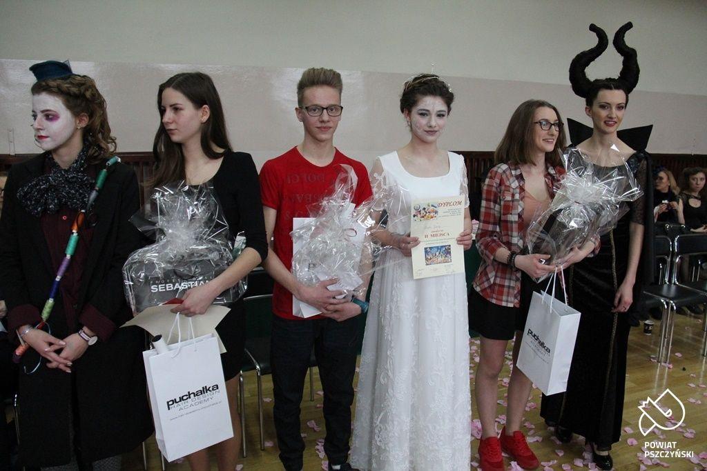Powiatowy Konkurs Fryzjerski z bajkowymi postaciami