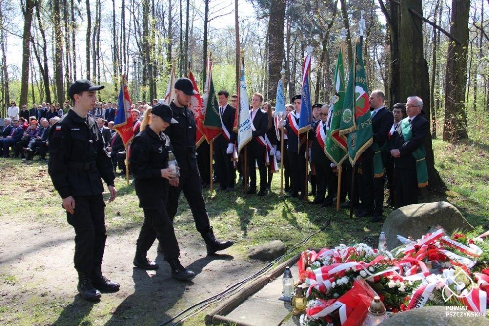 Uczczono pamięć zamordowanych bohaterów