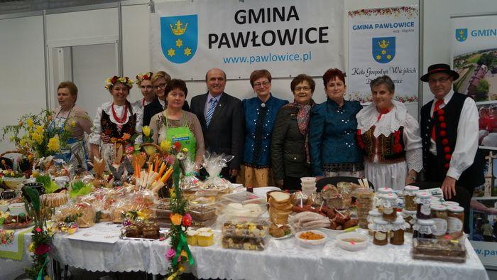 Gospodynie z Pielgrzymowic daniami wielkanocnymi promowały powiat