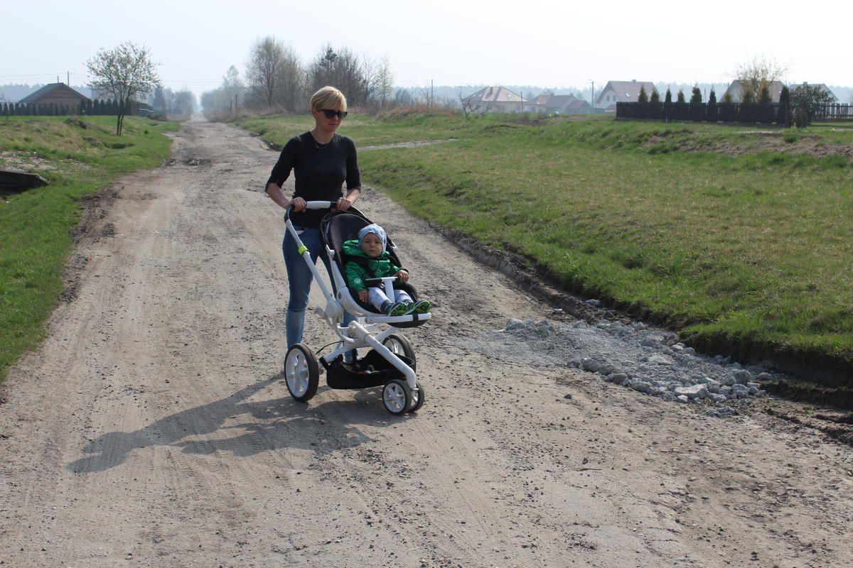 Droga dla rowerów, ale nie dla mieszkańców?