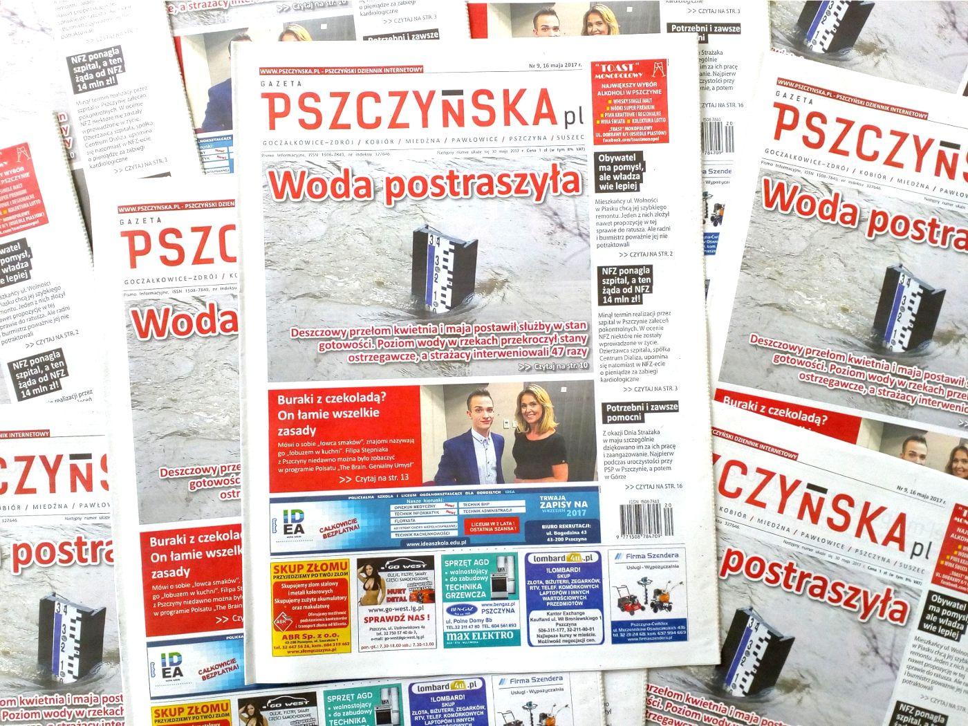 """Nowy numer """"Gazety Pszczyńskiej"""" już w sklepach!"""