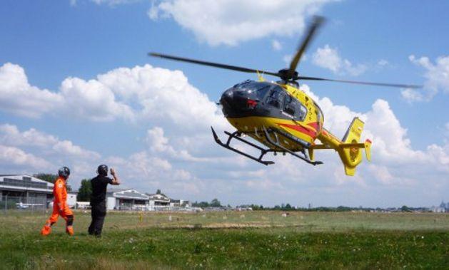 Groźny wypadek z udziałem motocyklisty na DK 1. Interweniowało LPR