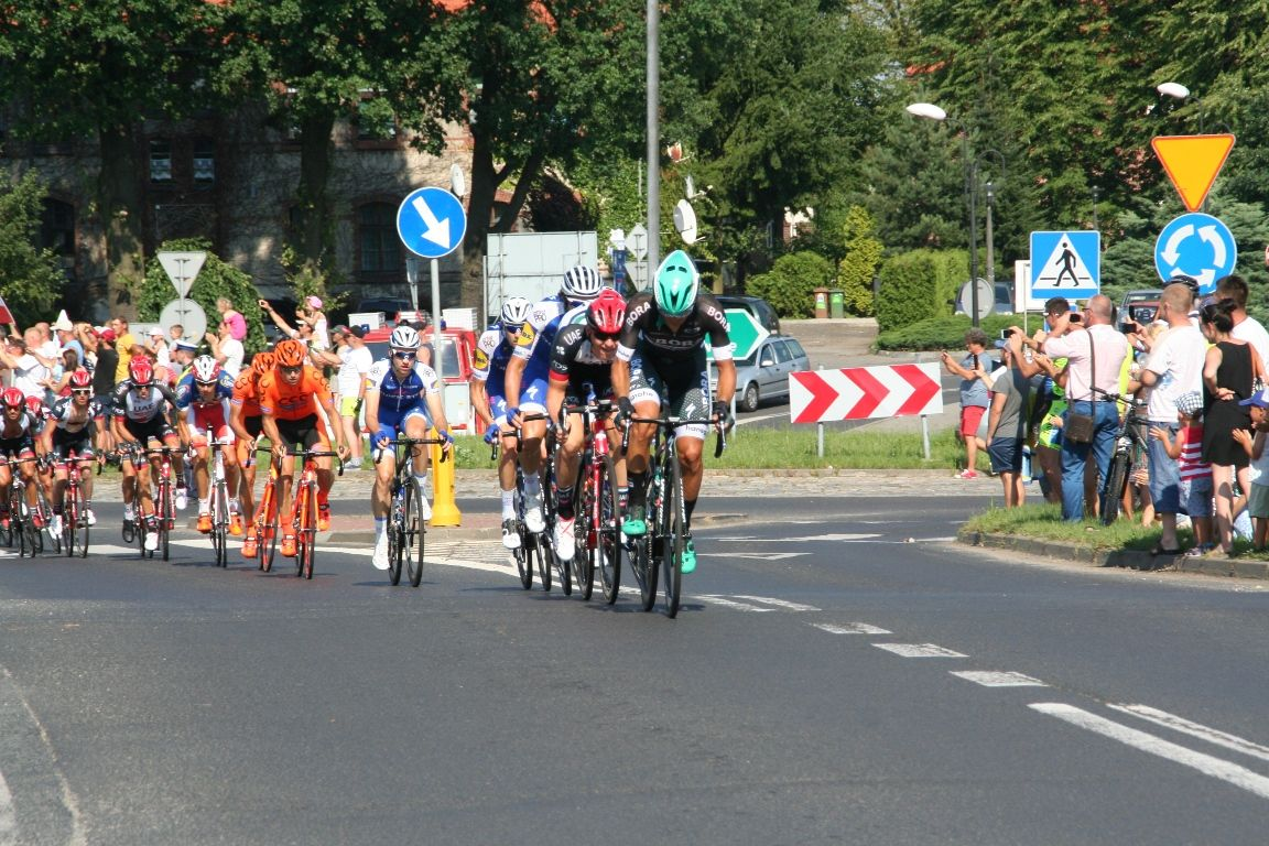 Tak kobiórzanie powitali Tour de Pologne